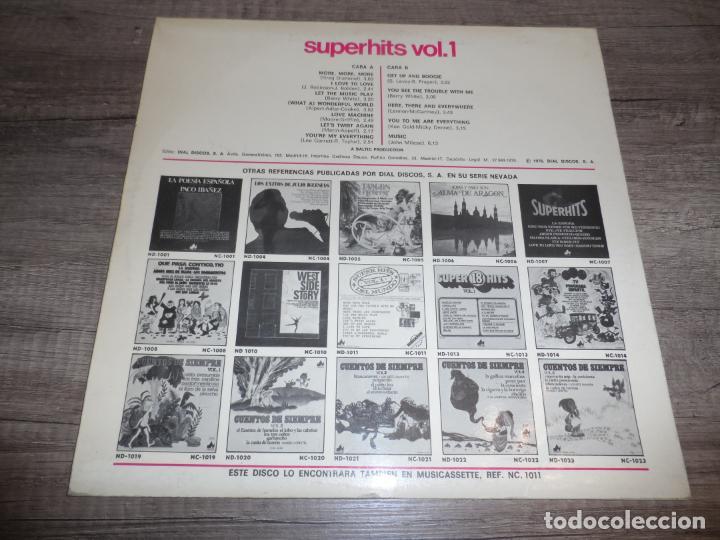 Discos de vinilo: SUPER HITS DEL MUNDO Vol.1 - RECOPILATORIO - Foto 2 - 277710043
