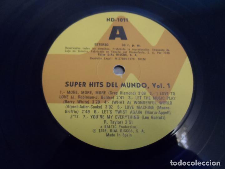 Discos de vinilo: SUPER HITS DEL MUNDO Vol.1 - RECOPILATORIO - Foto 3 - 277710043