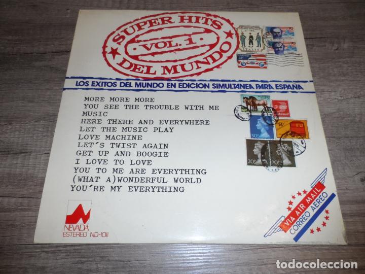 SUPER HITS DEL MUNDO VOL.1 - RECOPILATORIO (Música - Discos - LP Vinilo - Pop - Rock - Internacional de los 70)