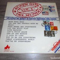 Discos de vinilo: SUPER HITS DEL MUNDO VOL.1 - RECOPILATORIO. Lote 277710043