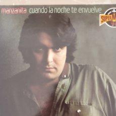 """Discos de vinilo: VINILO LP COMO NUEVO MANZANITA """" CUANDO LA NOCHE TE ENVUELVE"""". Lote 277712968"""