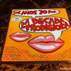 Disques de vinyle: LP. LOS AÑOS 70 POR....LA DÉCADA PRODIGIOSA. 1987. Lote 277714883