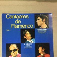 Discos de vinilo: LP CANTAORES DE FLAMENCO VOL. 1. Lote 277718638