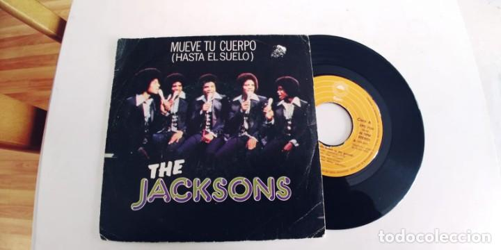 THE JACKSONS-SINGLE MUEVE TU CUERPO (Música - Discos - Singles Vinilo - Funk, Soul y Black Music)
