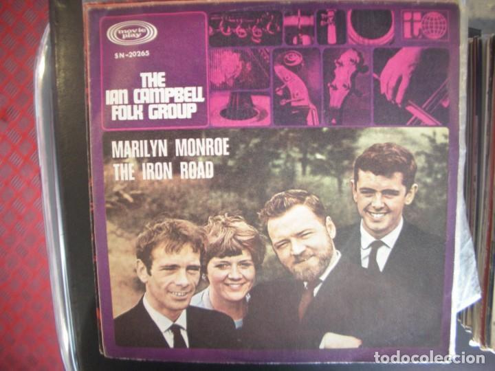 THE IAN CAMPBELL FOLK GROUP- MARILYN MONROE. SINGLE. (Música - Discos - Singles Vinilo - Country y Folk)