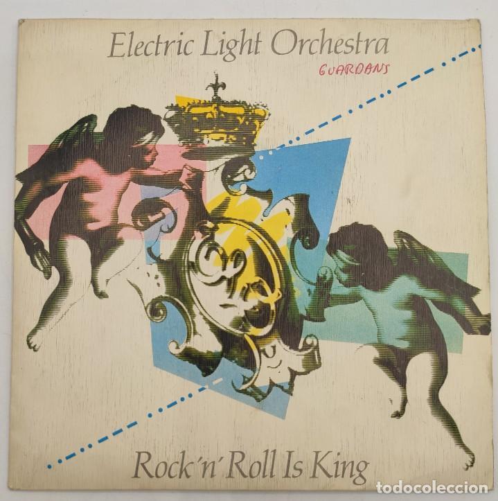 """Discos de vinilo: Vinilo de 7 pulgadas de Electric Light Orchestra que contiene """"Rock """"N"""" Roll is King"""" y """"after all"""". - Foto 2 - 277729123"""