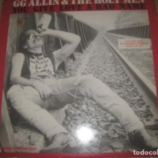 Discos de vinilo: GG ALLIN & THE HOLY MEN – YOU GIVE LOVE A BAD ( HOMESTEAD 1987 ) LIMITED EDITION ENCARTE OG USA. Lote 277729848