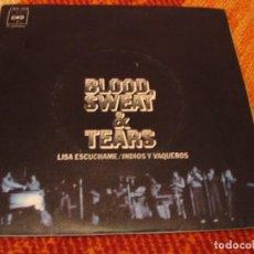 Discos de vinilo: BLOOD SWEAT & TEARS SINGLE LISA ESCÚCHAME CBS ESPAÑA 1972. Lote 277736708