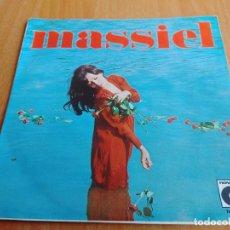 Discos de vinilo: MASSIEL - ROSAS EN EL MAR - CANCIONES DE LUIS EDUARDO AUTE 1967 NOVOLA. Lote 277737128