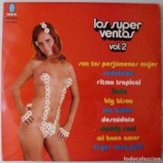 Disques de vinyle: TUPA'S BAND – LOS SUPER VENTAS VOL. 2 (LP TURQUESA 1977). Lote 277738363