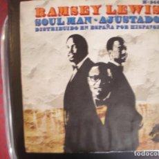 Discos de vinilo: RAMSEY LEWIS TRIO- SOUL MAN. SINGLE.. Lote 277740263