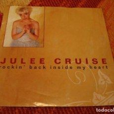 Discos de vinilo: JULEE CRUISE SINGLE ROCKIN´ BACK INSIDE MY HEART TWIN PEAKS DAVID LYNCH ALEMANIA 1991. Lote 277741113