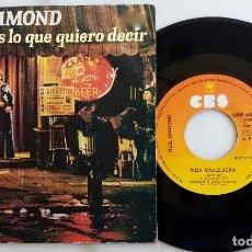 Discos de vinilo: NEIL DIAMOND. SI SUPIERAS LO QUE QUIERO DECIR. SINGLE ORIGINAL ESPAÑA 1976. Lote 277741448