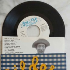 Discos de vinilo: PÍLDORA X, MI FRASCO DE MIEL / DHARMA BUM. SINGLE AÑO 1992 ROMILAR - D RECORDS. SINGLE CON INSERT. Lote 277741853