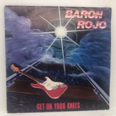 Discos de vinilo: SINGLE BARON ROJO PROMOCIONAL CHAPA DISCO / GET ON YOUR KNEES / GET ON YOUR KNESS. Lote 277742058