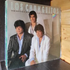 Discos de vinilo: LP ALBUM , LOS CHUNGUITOS , DESPUES DE LA TORMENTA. Lote 277742928