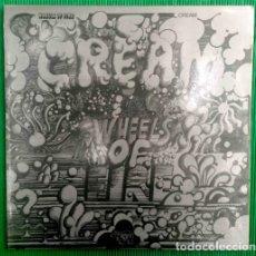 Discos de vinilo: CREAM – WHEELS OF FIRE - DOBLE, VINILO, LP.. Lote 277745998