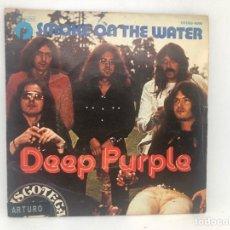 Discos de vinilo: SINGLE DEEP PURPLE / SMOKE ON THE WATER / HUMO EN EL AGUA. Lote 277747453