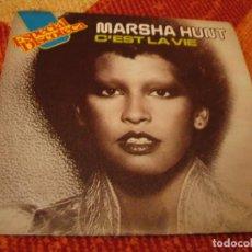 Discos de vinilo: MARSHA HUNT SINGLE C´EST LA VIE BP ESPAÑA 1976. Lote 277748173