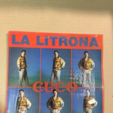 Discos de vinilo: MAXI SINGLE CUCO, LA LITRONA + SARA. Lote 277753968