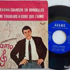 Discos de vinilo: ADAMO. J´AIME.+ 3. EP ORIGINAL ESPAÑA 1965. Lote 277754178