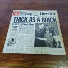 Discos de vinilo: JETHRO TULL - THICK AS BRICK. Lote 277754248