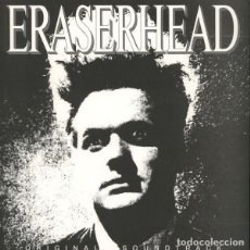 Discos de vinilo: LP DAVID LYNCH & ALAN R. SPLET - ERASERHEAD ORIGINAL SOUNDTRACK - VIRUS 30 - EUROPE 2015 (EX/EX++). Lote 277758928