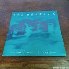 Discos de vinilo: THE BEATLES - CANCIO NES DE AMOR DOBLE ALBUM 1982 EMI ODEON. Lote 277759858