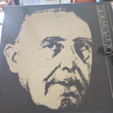 Discos de vinilo: FRANCISCO FRANCO VOZ Y PENSAMIENTO. Lote 277760973