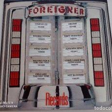 Discos de vinilo: FOREIGNER - RECORDS - LP USA ATLANTIC 1982 // PORTADA RELIEVE TROQUELADA DISCO DE VINILO. Lote 277764148