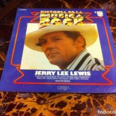 Discos de vinilo: LP. HISTORIA DE LA MÚSICA ROCK. JERRY LEE LEWIS. (Nº 3) 1981. Lote 277820743