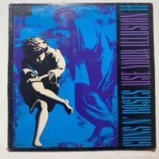 Discos de vinilo: DOBLE LP GUNS N' ROSES USE YOUR ILLUSION II EDICIÓN ESPAÑOLA DE 1991. Lote 277821803