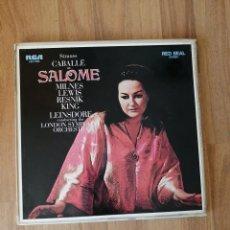 Discos de vinilo: ALBUM 2 VINILOS STRAUSS, CABALLERO AS SALOME, EL CABALLERO DE LA ROSA. Lote 277821893
