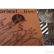 Discos de vinilo: V3017 - JUDAS PRIEST. PRIEST... LIVE. DOBLE LP VINILO. Lote 277822418