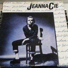 "Discos de vinilo: JEANNA CIE – DON'T BELIEVE IN LOVE.MCA RECORDS – MCA-23748 12"", NEAR MINT / VG. Lote 277842598"