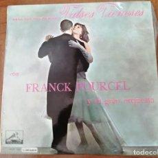 Discos de vinilo: FRANCK POURCEL. VALSES VIENESES. Lote 278034868