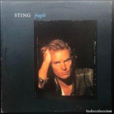 Discos de vinilo: STING FRAGILE MAXI 1988 SPAIN VINILO SIN REPRODUCIR. Lote 278155838