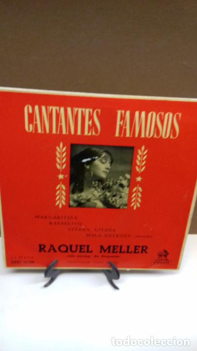 RAQUEL MELLER. MARGARITINA. Y 3 MAS (Música - Discos de Vinilo - EPs - Flamenco, Canción española y Cuplé)