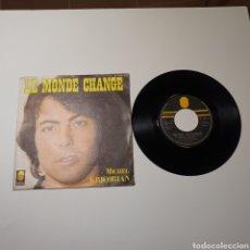 Discos de vinilo: 21-1. MICHEL KRICORIAN - LE MONDE CHANGE / LES NAUFRAGES DE LA TENDRESSE, TREMA 410 030, 1976, FRANC. Lote 278163523