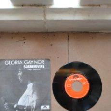 Discos de vinilo: GLORIA GAYNOR - SOBREVIVIRE - SPAIN - POLYDOR - PR -. Lote 278177963