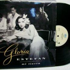 Discos de vinilo: GLORIA ESTEFAN MI TIERRA LP VINILO. Lote 278180248