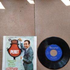Discos de vinilo: PERET - SAPORE DI SALE - SPAIN - DISCOPHON - PR. Lote 278181613