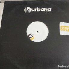 "Discos de vinilo: DJ PIPPI & DAVID PENN – SOLEA. URBANA RECORDINGS – URBANA 008 12"". VG+ / NEAR MINT. Lote 278184138"