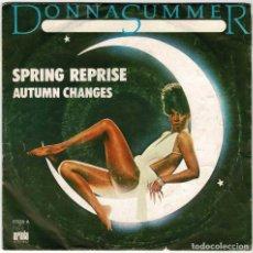 Discos de vinilo: DONNA SUMMER - SPRING REPRISE / AUTUM CHANGES. SINGLE. Lote 278184293