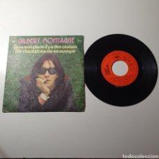 Discos de vinilo: 21-1. DANS MON PIANO IL Y A DES OISEAUX / ELLE CHANTAIT MA VIE EN MUSIQUE, CBS 1973. FRANCIA.. Lote 278185208