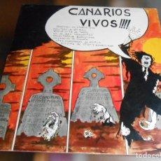 Discos de vinilo: CANARIOS, LOS - VIVOS !!! -, LP, CHAOS + 6, AÑO 1972. Lote 278191678