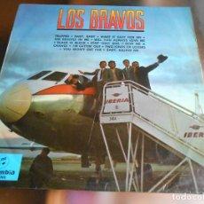 Discos de vinilo: BRAVOS, LOS, LP, TRAPPED + 11, AÑO 1966. Lote 278193218
