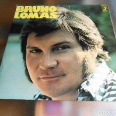 Disques de vinyle: BRUNO LOMAS, LP, QUEDATE (GET DOWN TONIGHT) + 10, AÑO 1976. Lote 278195188