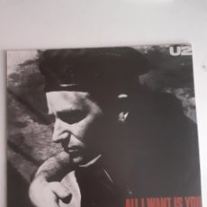 Discos de vinilo: U2. ALL I WANT IS YOU. MAXISINGLE. ESPAÑA 1989. 612 406. EX EX.. Lote 278201748