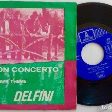 Discos de vinilo: DELFINI. MON CONCERTO. SINGLE ORIGINAL ESPAÑA 1970. Lote 278204258